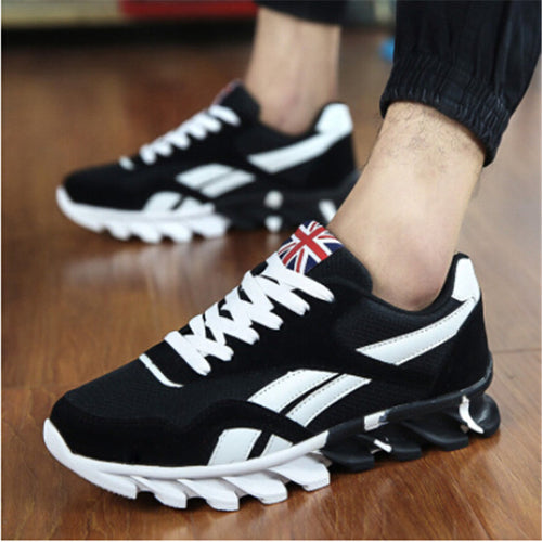 Shoes-Unique Design Breathable Sport Trainers Men Running Shoes