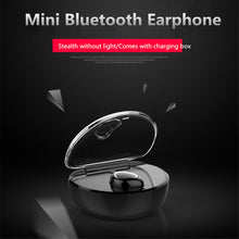 Load image into Gallery viewer, Romantic Heart-shaped Stereo Mini Wireless Bluetooth Invisible Sports Earphone With Charging Box