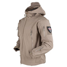 Load image into Gallery viewer, Soft Shell V4 Tactical Military Jacket Waterproof Softshell Jackets Men Army Hoody Jacket