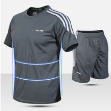 Load image into Gallery viewer, Summer Light And Quick-drying Breathable Men's Sports Suit