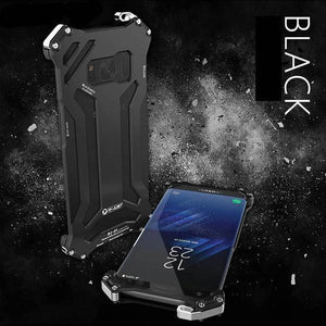 Full Protective Anti-Knock Metal Aluminum Armor Cover For Samsung S8 S8 Plus