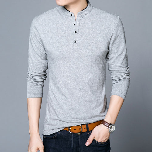 Long Sleeve Collar Leisure Men's Sweatshirts