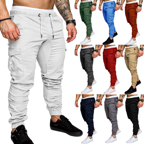 New Men's Fashion Sport Joggers Hip Hop Jogging Fitness Pant Casual Pant Trousers Sweatpants