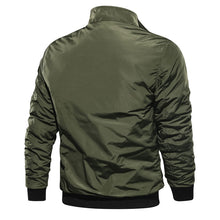 Load image into Gallery viewer, Casual men's flight jacket