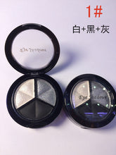 Smoky Cosmetic Set 3 Colors Professional Natural Eyeshadow