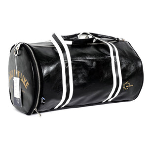 Fashion Soft Leather barrel Travel High-Capacity Bag For Men