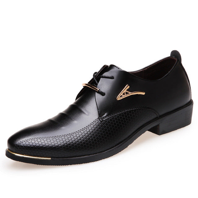 Pointed Toe Big Size Fashion Men Dress Shoes