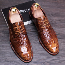 Load image into Gallery viewer, Top Quality Genuine Leather Men's Office Dress Shoes
