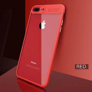 Luxury Clear Back Slim Hybrid Shockproof Case -iPhone 6/6S/6 PLUS/6S PLUS/7/7 PLUS