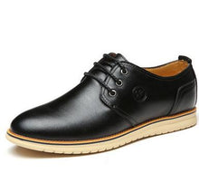 Load image into Gallery viewer, Handmade Flats Men Leather Shoes