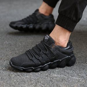 Mesh Breathable Light  Running Shoes For Men