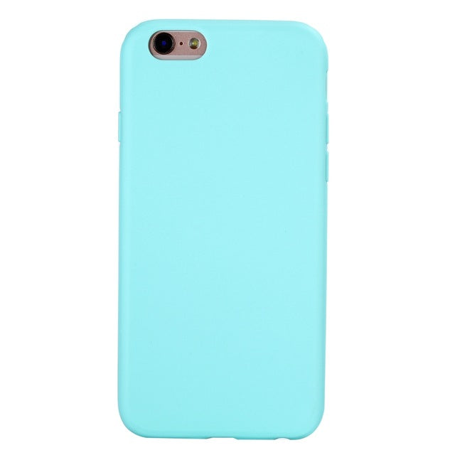 TPU Silicone Frosted Matte Case for iPhone