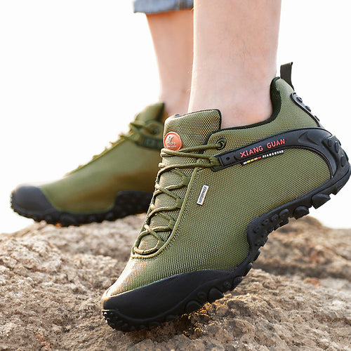 Waterproof Breathable Hiking Shoes For Men