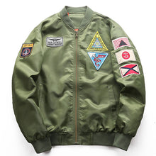 Load image into Gallery viewer, Fashion New Badge Pilot Jacket