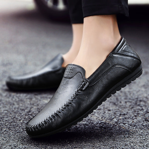 Handmade Moccasins Leather Men Loafers