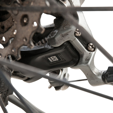 MINI DATAMATRIX APPLIED TO A REAR DERAILLEUR