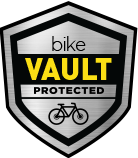 Bike Vault Shield logo