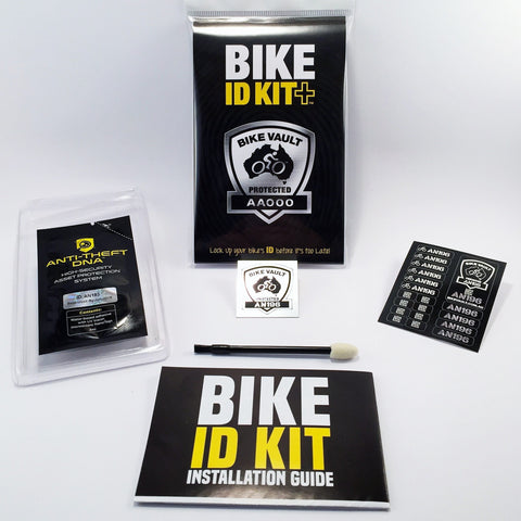 Australian Bike Vault - BIKE ID KIT+