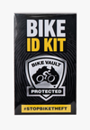 GARAGE PROTECTION PACK - HIPLOK HOMIE + BIKE VAULT WARNING SIGN + BIKE ID KIT
