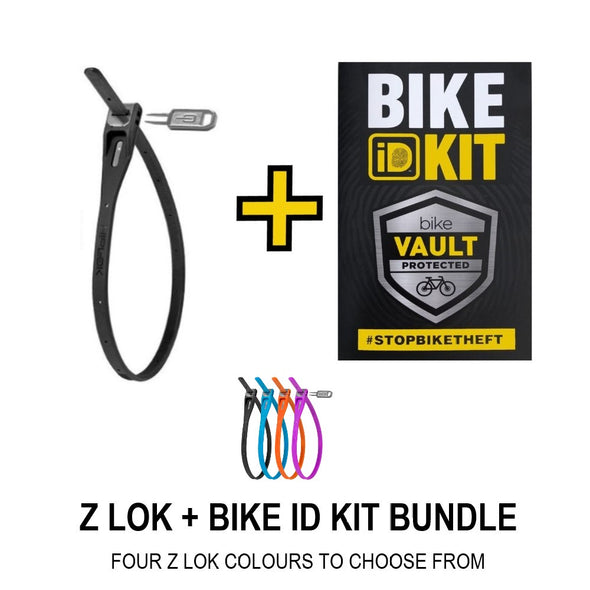 HIPLOK Z LOK (SINGLE) + BIKE ID KIT