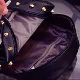 Flower & Butterfly Leather Backpack - madtrendy.com