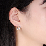 Star Crystal Stud Earrings - madtrendy.com