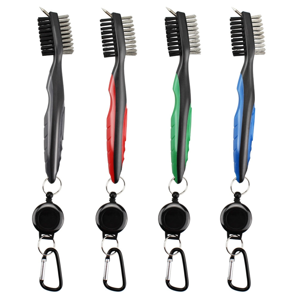 Multi Function 2 Sided Golf Brush Tool