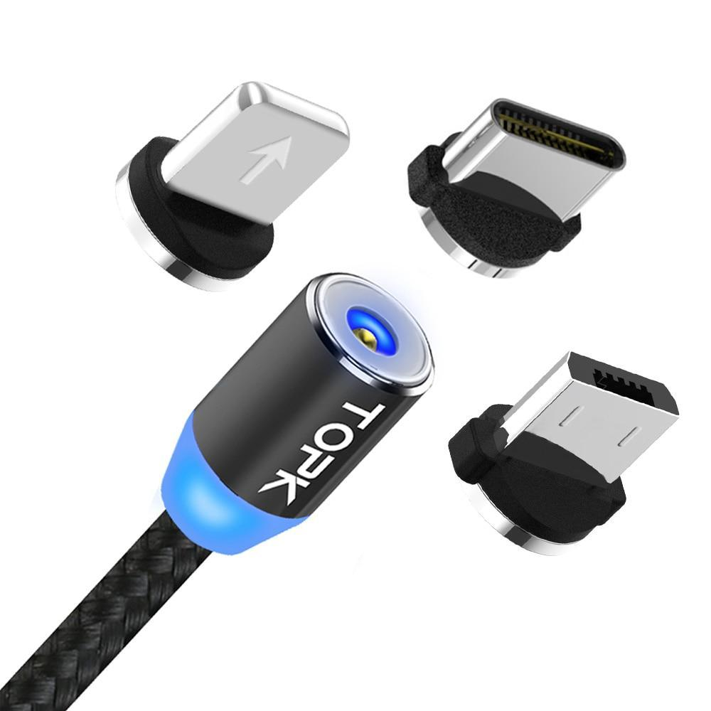 360 Smart Magnetic Charging Cable- www.madtrendy.com