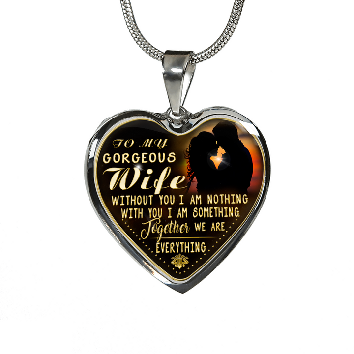My Gorgeous Wife Engraved Necklace or Bangle (Gold)