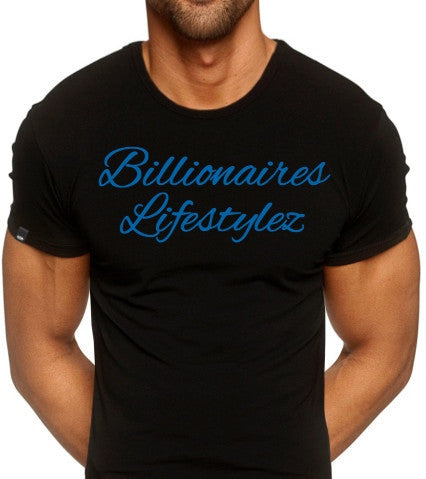 Billionaires LIfestylez Black & Blue t-shirt