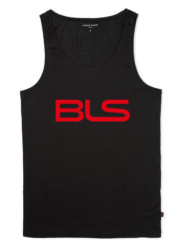 Billionaires lifestylez tank top black & red (BLS)