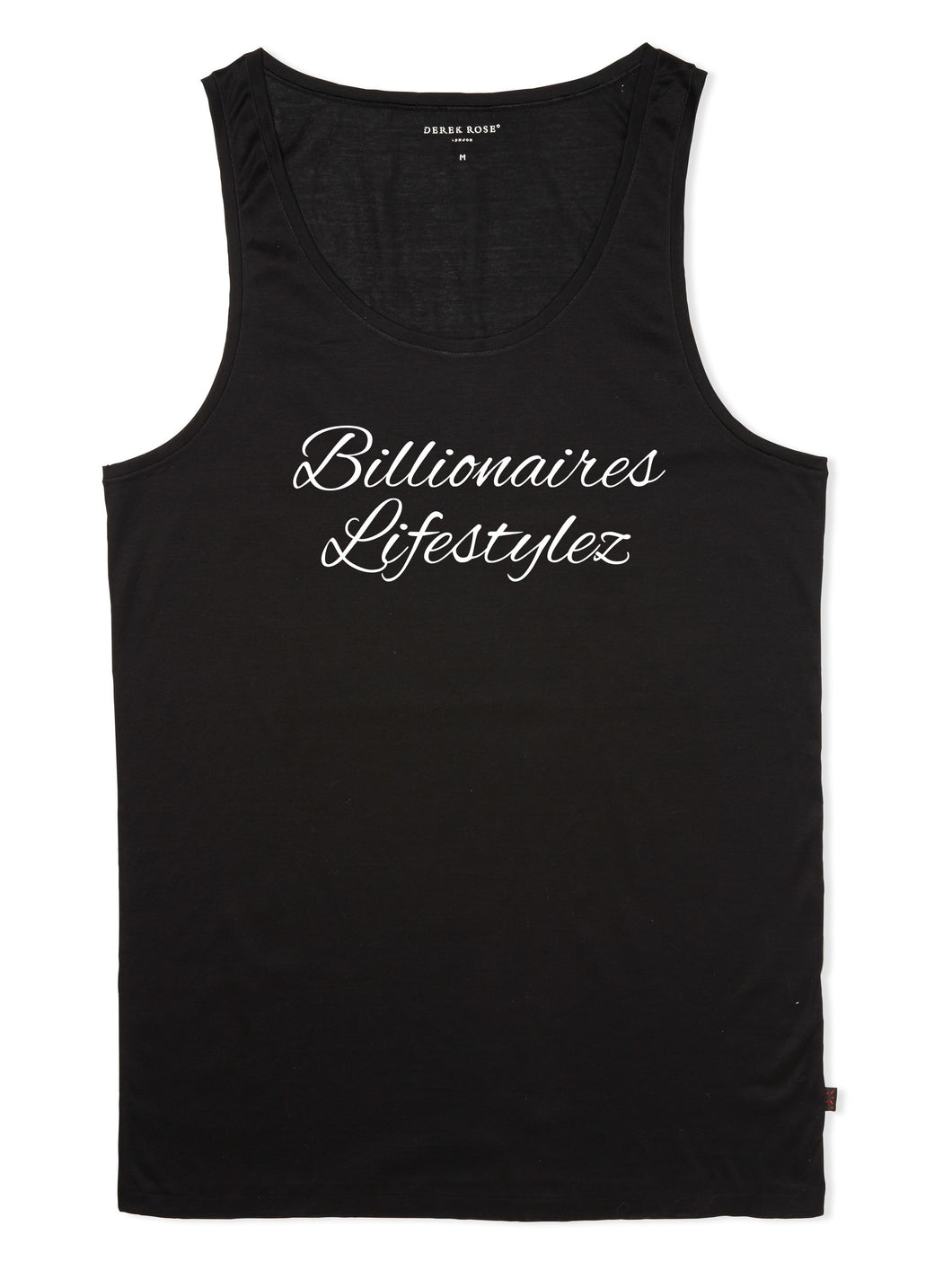 Billionaires lifestylez black and white Tank top