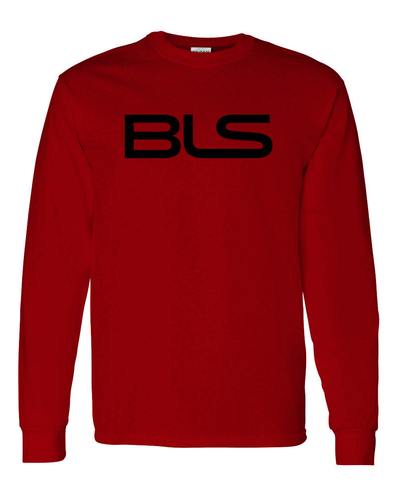 Billionaires lifestylez long sleeve red & black (BLS)
