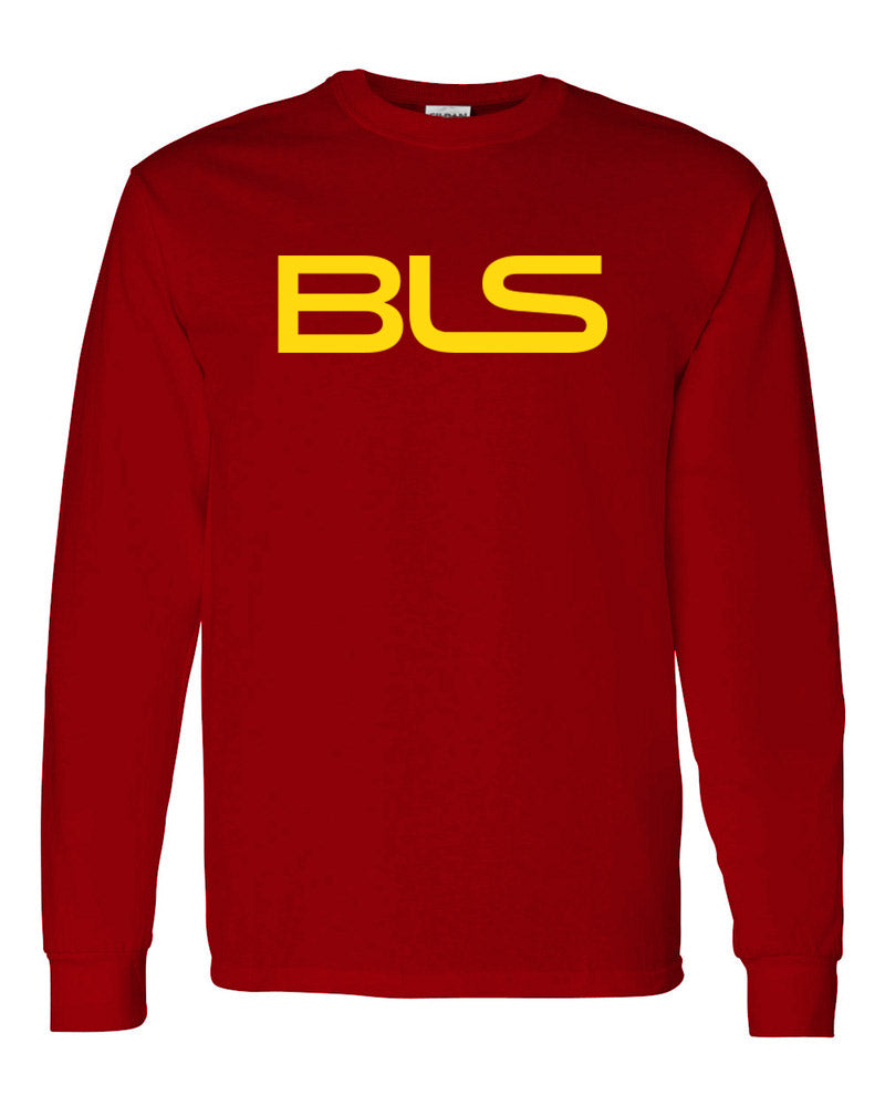 Billionaires lifestylez long sleeve red & gold (BLS)