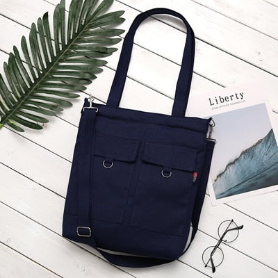 Soft Canvas Bag Large Capacity Tote Bag