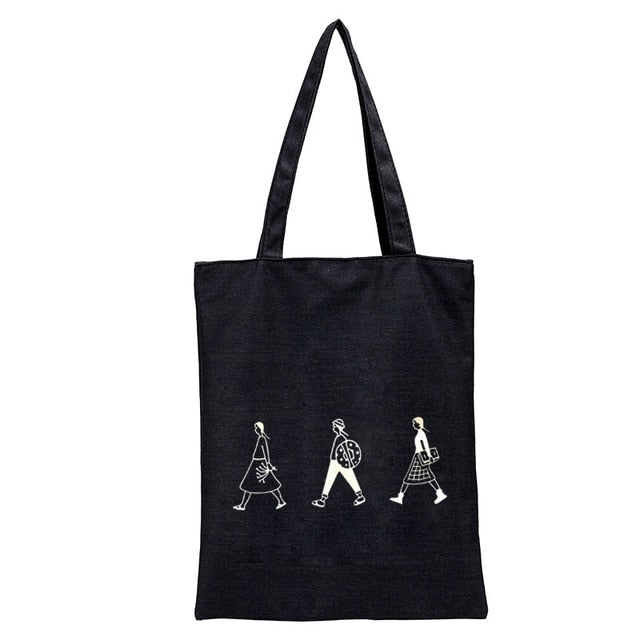 Cloth Canvas Tote Bag Cotton Eco Reusable