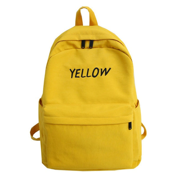 Waterproof Nylon Casual Backpack