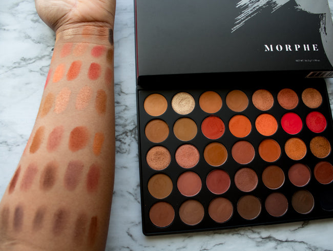 Morphe brushes 35O2 Second Nature Eyeshadow Palette