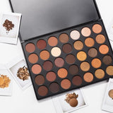 Morphe Brushes Eyeshadow Palette 35R Ready, Set, Gold!