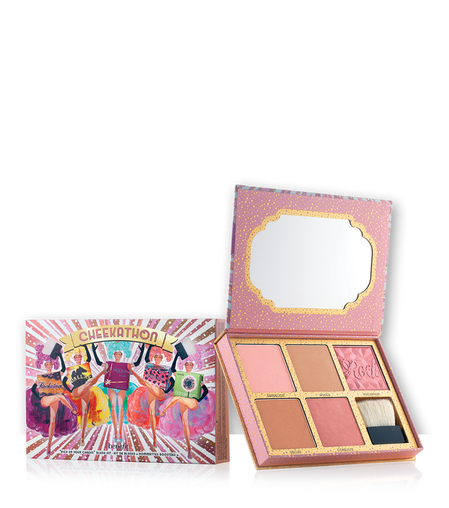 Benefit - Limited edition 'Cheekathon' bronzer and blusher palette gift set