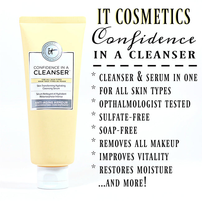 It Cosmetics Confidence in a Cleanser Serum 148ml