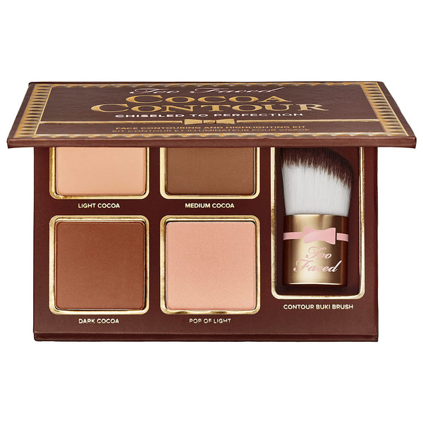 Too Faced Cocoa Face Contour Chiseled To Perfection Highlighter Kit