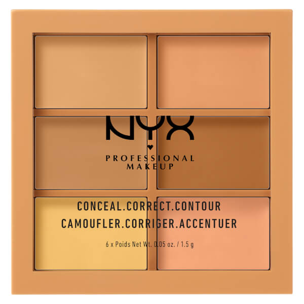 NYX 3C PALETTE - COLOR CORRECTING CONCEALER
