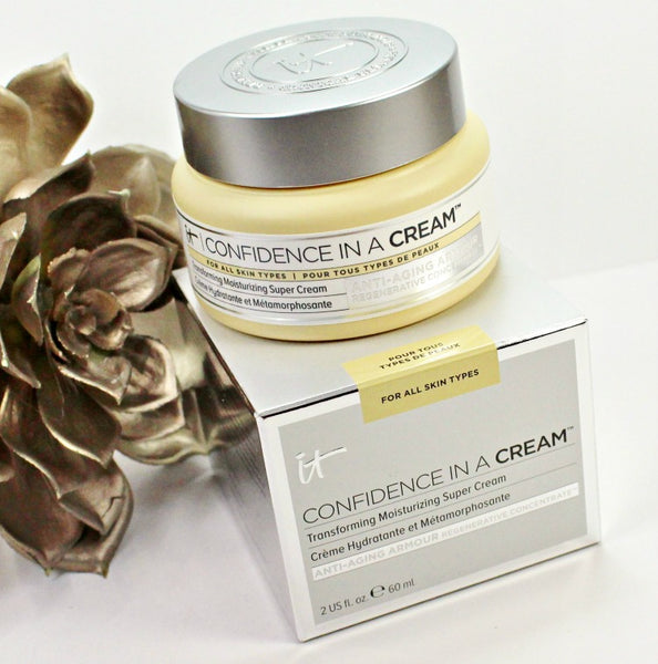 It Cosmetics Confidence in a Cream Anti-Ageing & Skin-Loving Moisturising Face Cream 60ml