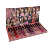 Huda Beauty Demi Matte Lipstick Set - 15 Piece