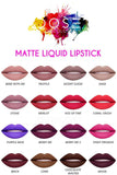 Dose of Colors Matte Liquid Lipstick - All shades makeup