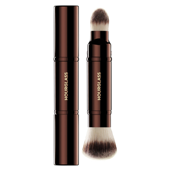 Hourglass Retractable Double-Ended Complexion Brush