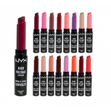 NYX Professional MakeUp High Voltage Lipstick - Various Colours 2.5g