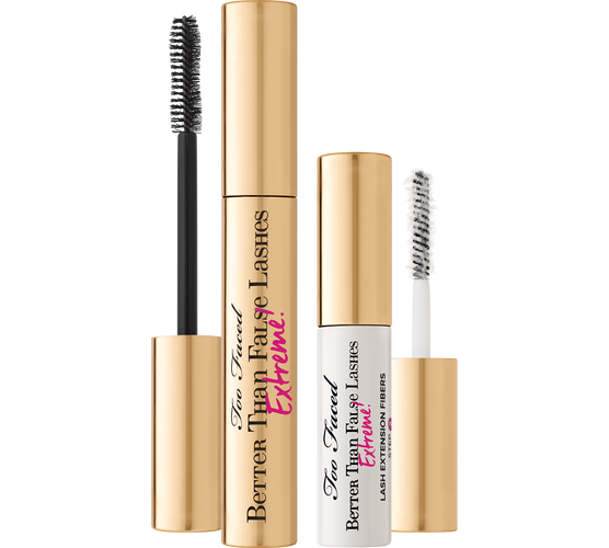 Too Faced Better than False Lashes Extreme Black Mascara kit
