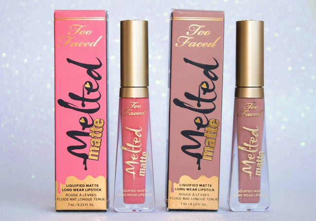 Too Faced Melted Matte Liquified Lipstick - Various shades SALE